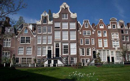 Nizozemsko - Amsterdam letecky na 4 dny, strava dle programu