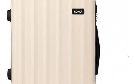 Cestovní kabinový béžový kufr Trip 1773