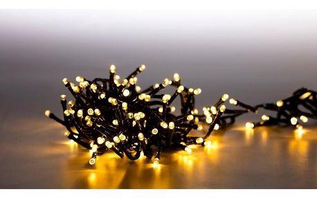 Marimex   Světelný řetěz 200 LED dvojitý - teplá bílá - sada 2 ks   19900087