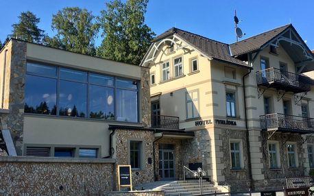 Hotel Vyhlídka poblíž Stezky korunami stromů Krkonoše