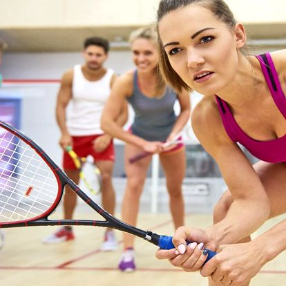 Squash nebo S-badminton i lekce s trenérem