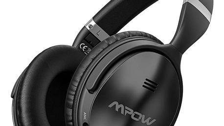 Bezdrátová sluchátka MPOW X4.0 - černá