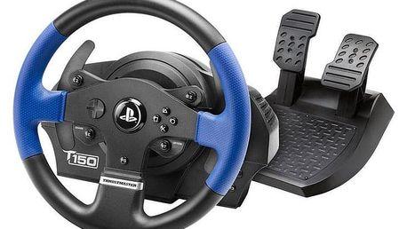 Volant Thrustmaster T150 pro PS4, PS3, PC + pedály černý (4160628)