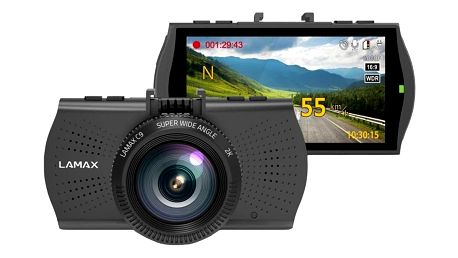 Autokamera LAMAX C9 černá + DOPRAVA ZDARMA