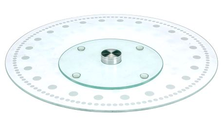 EH Excellent Houseware Multifunkční podnos pro servírování pečiva, odolné sklo