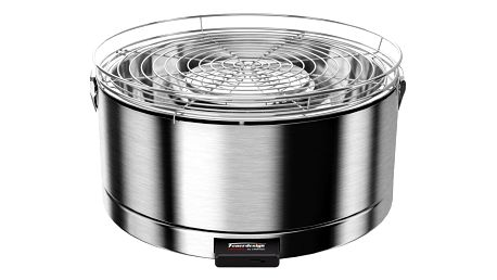 Feuerdesign stolní gril Mayon nerezový - 14012
