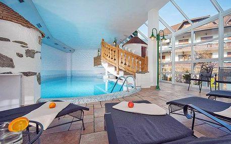 Italské Tyrolsko: pohoří Riesenferer a Alpy v hotelu s neomezeným wellness, vínem a polopenzí