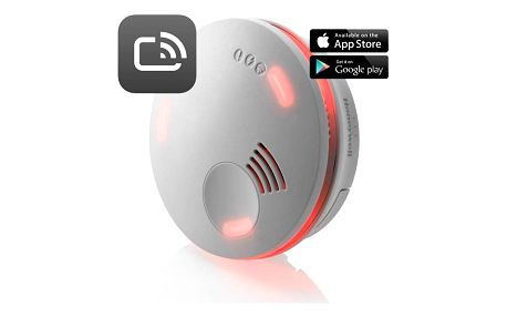 Honeywell XS100T-CSSK-A, Smart Detektor kouře X-Series (opticko-teplotní princip), Alarm Scan App, bateriový