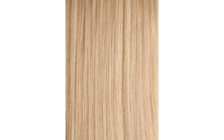 CLIP IN vlasy Exclusive - set 50 cm platinová blond