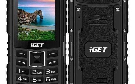 iGET Defender D10 Dual SIM černý (84000426)