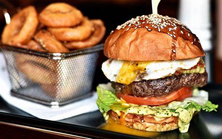 Hamburgery v Hangar baru vč. přílohy