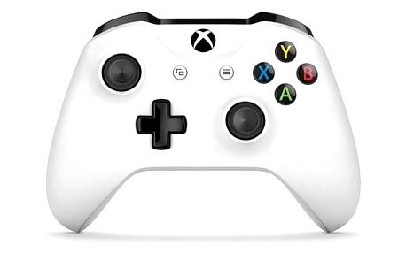 Gamepad Microsoft Xbox One S Wireless - bílý (TF5-00004)