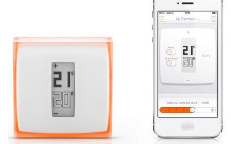Netatmo Thermostat Wi-Fi termostat pro zařízení iOS a Android