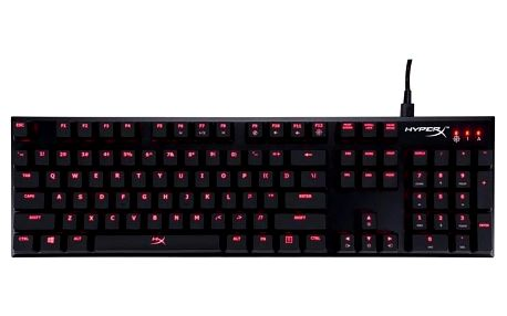 HyperX Alloy FPS Mechanical, MX Red, US černá (HX-KB1RD1-NA/A2)