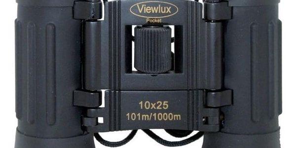 Dalekohled Viewlux Pocket 10x25 černý (A4518)