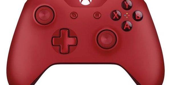 Gamepad Microsoft Wireless (WL3-00028) červený