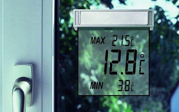 Teploměr TFA 30.1025 VISION, okenní šedý3
