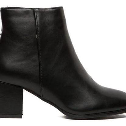 Dámské černé kotníkové boty Paige 129