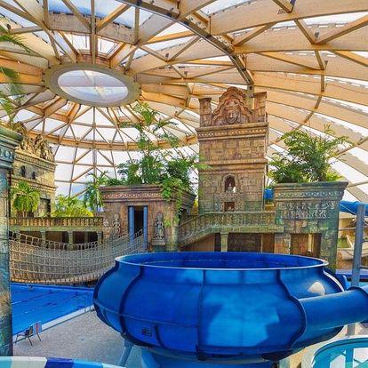 Budapešť, Aquaworld Resort**** s wellness a aquaparkem