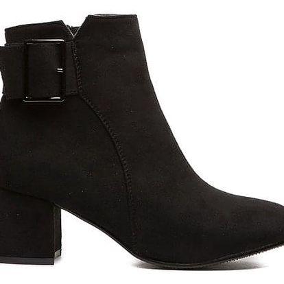 Dámské černé kotníkové boty Enahi 136