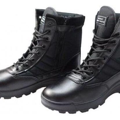 Boty vysoké černé vel. 44