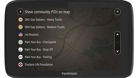Tomtom GO Professional 6200 EU, Lifetime černá (1PL6.002.09)