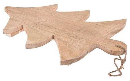 Koopman Dřevěné prkénko Strom, 34 x 46,5 cm