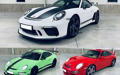 Jízda v Porsche 911 GT3 dle výběru