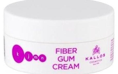 Kallos Cosmetics KJMN Fiber Gum Cream 100 ml modelovací krémová guma na vlasy pro ženy