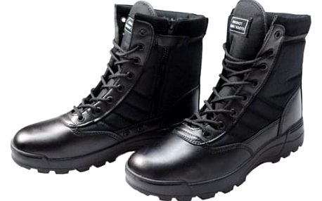 Boty vysoké černé vel. 42