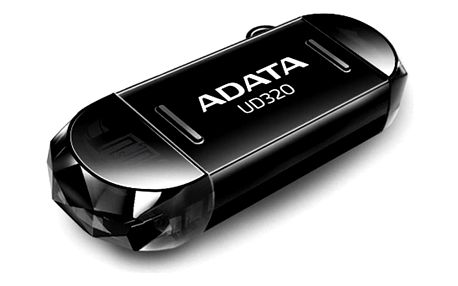 USB Flash ADATA UD320 64GB černý (AUD320-64G-RBK)