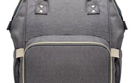 Mateřský tmavě šedý batoh Jean 6814