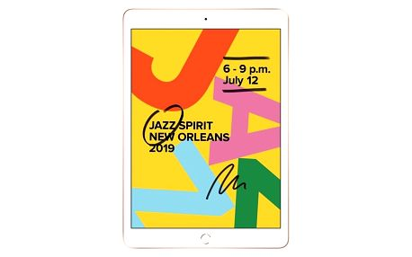 Apple iPad 2019 Wi-Fi 128 GB - Gold (MW792FD/A)