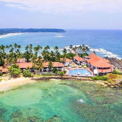4* Dickwella Resort & Spa na Srí Lance s polopenzí