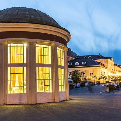 Hotel Hubert*** ve Františkových Lázních s procedurami a polopenzí pro dva