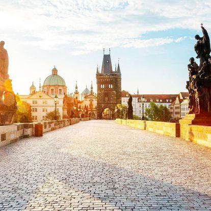 Zimní romantika v srdci Staré Prahy pro dva