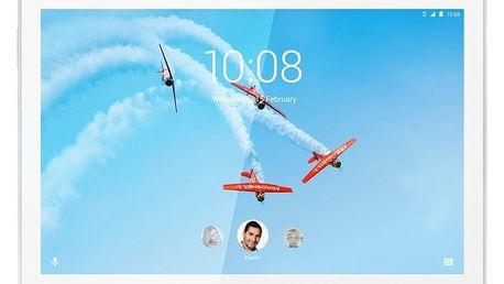 Dotykový tablet Lenovo Tab M10 32 GB HD LTE bílý (ZA4H0041CZ)