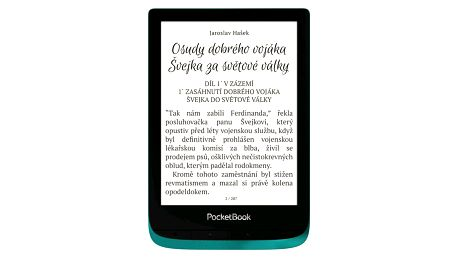 Čtečka e-knih Pocket Book 627 Touch Lux 4 - Emerald (PB627-C-WW)