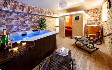 Šumava u skiareálů: Apartmány Andrea se snídaní, privátním wellness + procedury