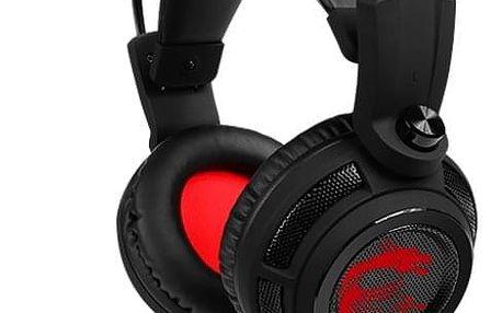 Headset MSI DS502 Gaming černý (S37-2100910-SV1)