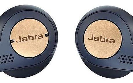 Jabra Elite 65t Active modrá/měděná (100-99010000-60)