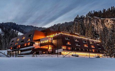 Zimní lyžovačka v Jasné