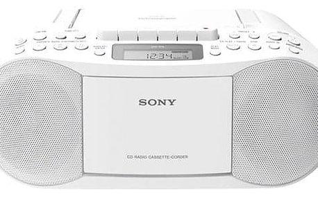 Radiopřijímač s CD Sony CFD-S70W bílý