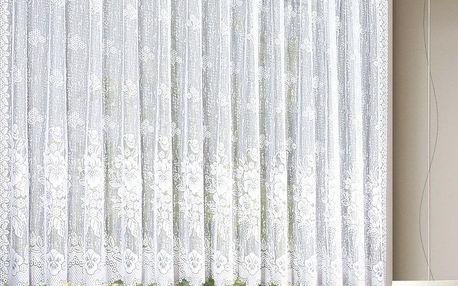Albani Záclona Květiny, 300 x 160 cm