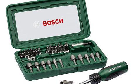 Sada nářadí Bosch 46 ks kov/plast