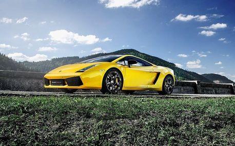 Jízda v Lamborghini Gallardo - 20 minut