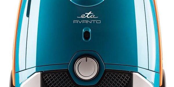 Podlahový vysavač ETA Avanto 3519 90010 modrý + DOPRAVA ZDARMA3