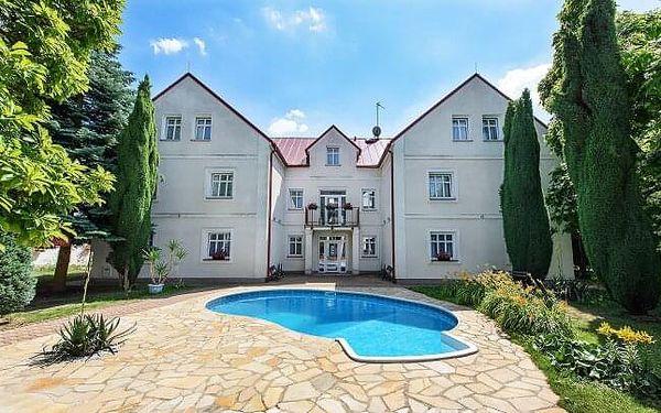 Romantika ve vilové části Prahy: Hotel Marie-Luisa s polopenzí + bazén a slevy