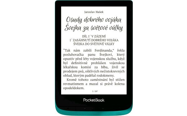 Čtečka e-knih Pocket Book 627 Touch Lux 4 - Emerald (PB627-C-WW)2