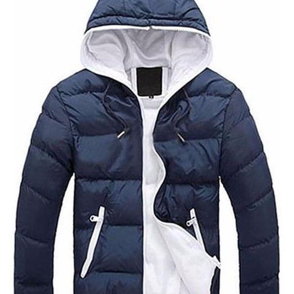 Pánská jarní bunda Santo s kapucí - dodání do 2 dnů